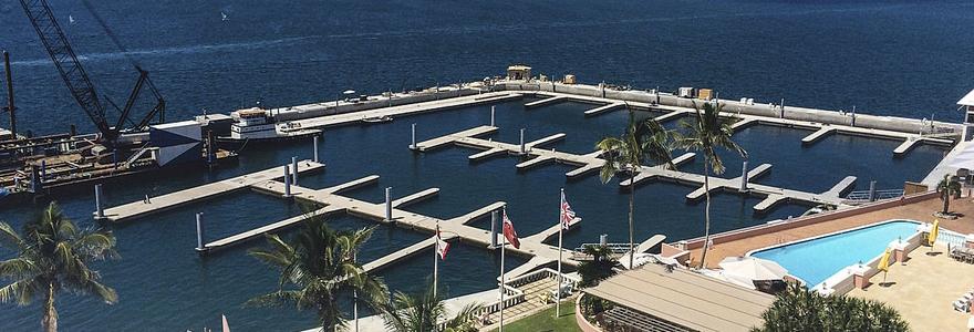 construction de marinas