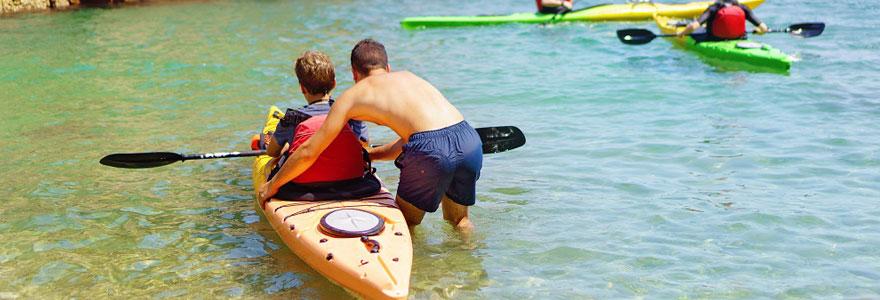 Sports nautiques : suivre des cours